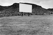 Open Air Cinema Prints - Drive In Movie Theater  Print by Homer Sykes
