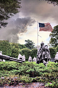 Korean War Memorial Photos - Drive On by JC Findley
