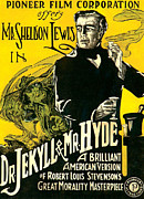 1920 Framed Prints - Dr.jekyll & Mr. Hyde, Sheldon Lewis Framed Print by Everett