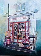 Hardware Shop Framed Prints - Droguerie Framed Print by Victoria Heryet