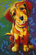 Droopy Framed Prints - Droopy Dawg Framed Print by Rianna Stackhouse