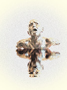 Rodin Prints - Drowning In Sorrow Print by Al Bourassa