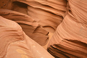 Sandstone Art - Drowning in the sand - Antelope Canyon AZ by Christine Till