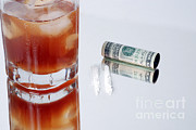 Alcoholic Drink Prints - Drug Abuse Print by Photo Researchers, Inc.