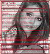 Feelings Digital Art - Drug Facts by Kristie  Bonnewell
