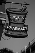 Black Commerce Art - Drugstore Sign I by Steven Ainsworth