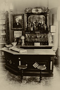 Soda Fountain Framed Prints - Drugstore Soda Fountain - New Orleans Framed Print by Bill Cannon