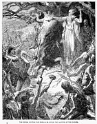 Druids And Britons Print by Granger