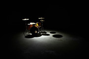 Drum Kit Prints - Drum Kit, Elevated View Print by Thomas Northcut