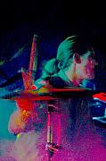 Drummer  Print by Tommy Simpson