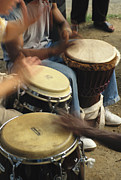 Drummers Of Varied Backgrounds Join Print by Stephen St. John