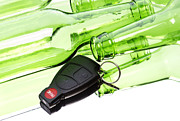 Bottle Photos - Drunk driving by Blink Images