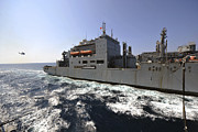 Operation Enduring Freedom Posters - Dry Cargoammunition Ship Usns Richard Poster by Stocktrek Images