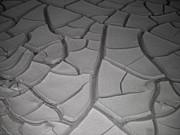 Dry Desert Lake Print by Irina  March