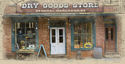 Goods Prints - Dry Goods Store Print by Ron Jones
