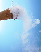 Co2 Posters - Dry Ice Poster by Gustoimages