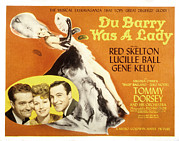Kelly Posters - Du Barry Was A Lady, Red Skelton Poster by Everett