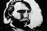 Duane Allman Print by Jeffcoat Art
