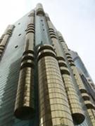 Dubai Building 01 Print by Mike Holloway