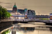 Land Scape Digital Art Prints - Dublin Print by Barry R Jones Jr