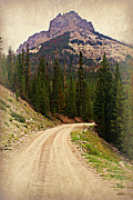 Dubois Mountain Road Print by Marty Koch