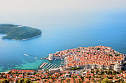 Sights Art - Dubrovnik Aerial View by Artur Bogacki