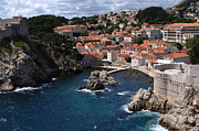 Dubrovnik Acrylic Prints - Dubrovnik By The Sea Acrylic Print by Bob Christopher