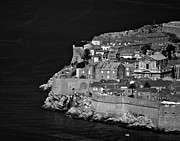 Birds And Flowers Prints - Dubrovnik-Croatia Print by Mario Celzner