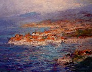 R W Goetting Framed Prints - Dubrovnik in the afternoon Framed Print by R W Goetting