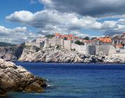 Dubrovnik Photos - Dubrovnik on the Adriatic by Don Wolf