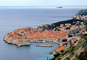 Ramona Johnston Framed Prints - Dubrovnik Framed Print by Ramona Johnston
