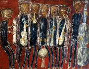 Jazz Art - Dubuffet: Jazz Band, 1944 by Granger
