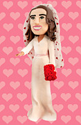 Wedding Sculptures - Duchess of Cambridge by Louisa Houchen