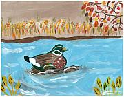 Rosemary Mazzulla - Duck in Water
