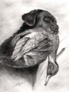 Duck Season Print by Kathleen Kelly Thompson