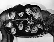 Chico Photo Framed Prints - Duck Soup, Zeppo Marx, Chico Marx Framed Print by Everett