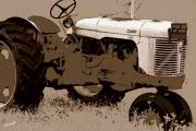 Farm Equipment Digital Art - Duct Tape Memories by Ed Smith