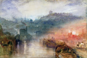 English Watercolor Paintings - Dudley by Joseph Mallord William Turner