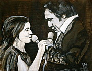 Theatre Painting Originals - Duets by Pete Maier