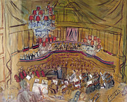 Chandelier Prints - Dufy: Grand Concert, 1948 Print by Granger