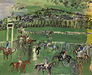 Jockey Art - Dufy: Race Track, 1928 by Granger