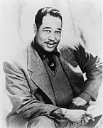 African-american Photo Framed Prints - Duke Ellington 1899-1974, Foremost Framed Print by Everett