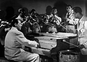 Performing Photo Acrylic Prints - Duke Ellington And His Famous Orchestra Acrylic Print by Everett