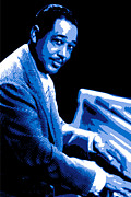 Basie Digital Art Prints - Duke Ellington Print by DB Artist