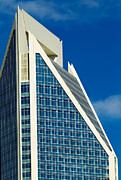 Charlotte Framed Art Photos - Duke Energy Tower by Patrick Schneider