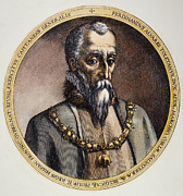 Alvarez Framed Prints - Duke Of Alba (1507-1582) Framed Print by Granger
