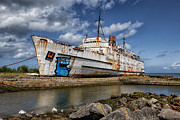 Abandoned  Prints - Duke of Lancaster  Print by Adrian Evans