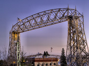 Duluth Posters - Duluth Lift Bridge Poster by Jimmy Ostgard