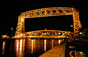 Register Framed Prints - Duluth Lift Bridge Framed Print by Kristin Elmquist