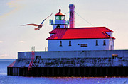 Duluth Photos - Duluth Lighthouse by Kristin Elmquist
